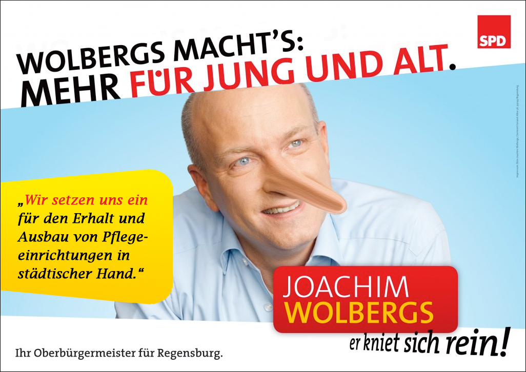 Karikatur Wolbergs Wahlprogramm2